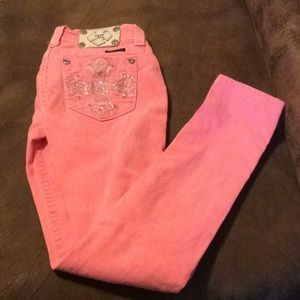 Miss me bright pink skinny jeans(see description